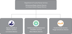 org chart FY20