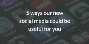 DCHS social media