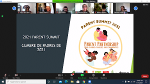 More than 130 families spent their Saturday morning (May 15), in a virtual summit designed to build relationships and share information in a safe space about legal matters, education, advocacy, employment, safety and health.