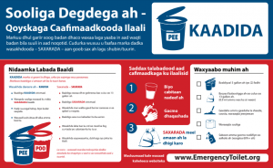 Image of PEE/POO Twin Bucket System Stickers in Somali