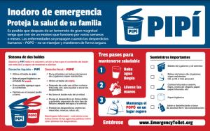Inodoro de emergencia