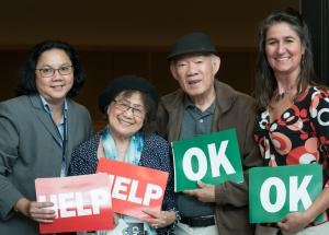 Multnomah County  offers free preparedness workshops in many languages, including this class in Vietnamese