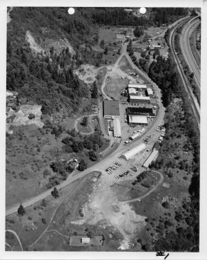 Aerial, Rocky Butte, May 1976